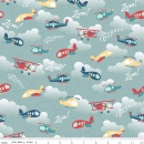 Fly aweigh, Riley Blake Design, Flugzeuge