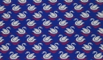 Jersey Simply swans blau
